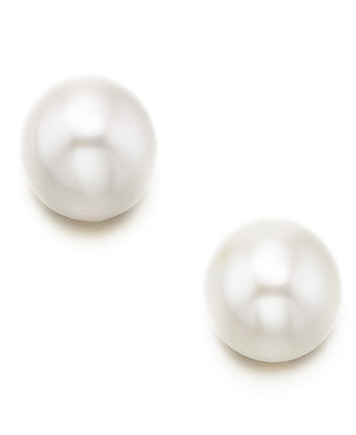 Children's 14k Gold Small Cultured Freshwater Pearl Earrings