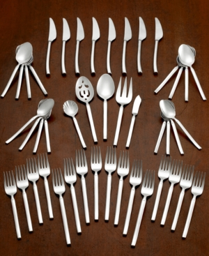Zwilling J.a. Henckels Twin Brand Opus 18/10 Stainless Steel 45-Pc. Flatware Set, Service for 8