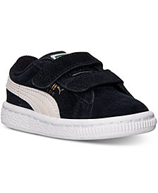 Puma Toddler Boys' Suede 2 Straps Sneakers from Finish Line