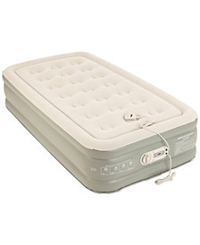 "Premier 2-Layer 16"" Twin Air Mattress with Built-In Pump"