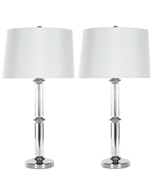 Safavieh Set of 2 Vendome Crystal Table Lamps