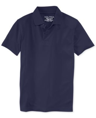 School Uniform Performance Polo, Big Boys