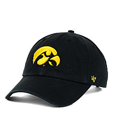 '47 Brand Iowa Hawkeyes Clean-Up Cap