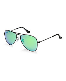 Ray-Ban Junior Sunglasses, RJ9506S AVIATOR KIDS