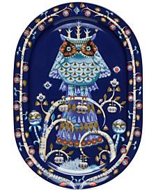 Taika Blue Serving Platter