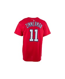 Majestic Men's Ryan Zimmerman Washington Nationals Official Player T-Shirt