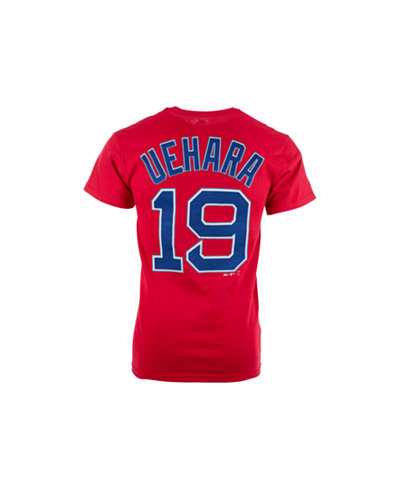Majestic men 39 s koji uehara boston red sox official player Red sox player t shirts