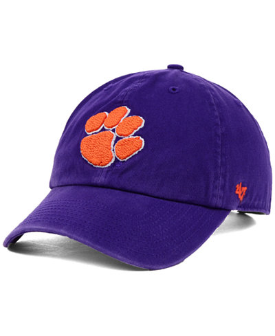 '47 Brand Clemson Tigers NCAA Clean-Up Cap