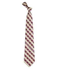 Eagles Wings Florida State Seminoles Checked Tie