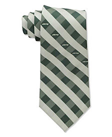 Eagles Wings New York Jets Checked Tie
