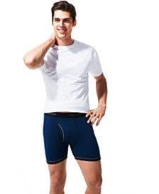Hanes Men's FreshIQ™ Crew-Neck T-Shirt & Boxer Briefs