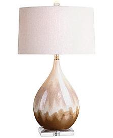 Uttermost Flavian Glazed Ceramic Table Lamp