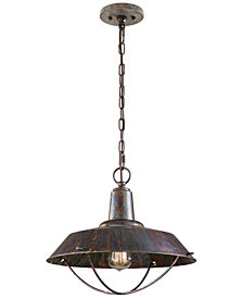 Uttermost Arcada 1 Light Bronze Pendant