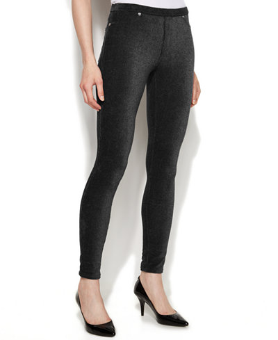 MICHAEL Michael Kors Corduroy Leggings - Pants - Women - Macy's