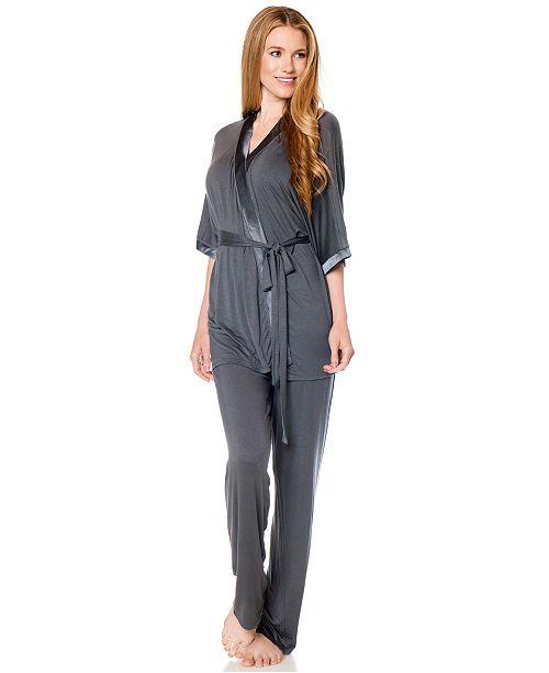 9bcf2fed136ba ... Motherhood Maternity Bump In The Night™ Three-Piece Nursing Pajama  ...