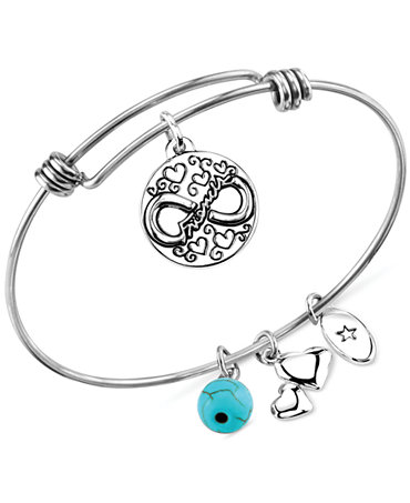 unwritten jewelry unwritten friendship charm and manufactured turquoise 8mm 9804