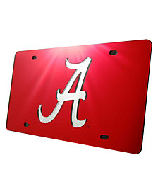 Stockdale Alabama Crimson Tide Laser Tag License Plate