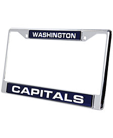 Rico Industries Washington Capitals License Plate Frame