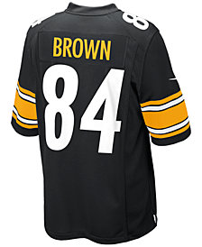 Nike Men's Pittsburgh Steelers Antonio Brown Game Jersey