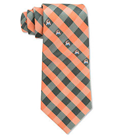 Eagles Wings Miami Marlins Checked Tie