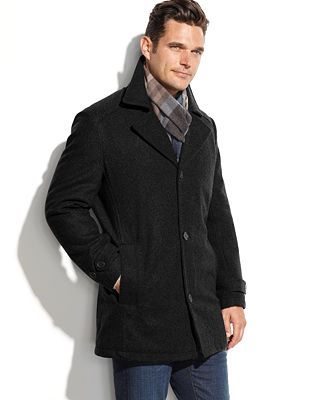 London Fog Men's Big & Tall Classic Car Coat - Coats & Jackets ...