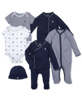 Polo Ralph Lauren Ralph Lauren Cotton Coverall Baby Boys All Baby