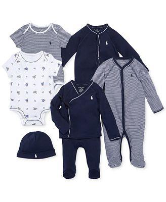 Ralph Lauren Nestled In Navy Gift Bundle, Baby Boys - Sets ...