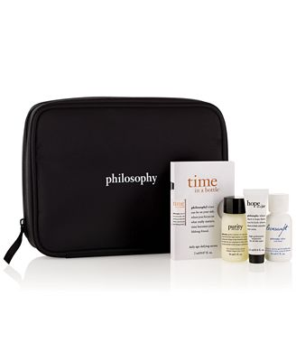 Receive a FREE 5-Pc. Gift with $35 philosophy purchase