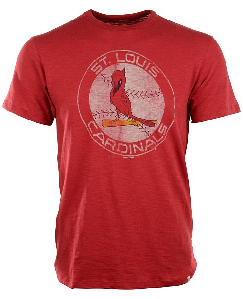 '47 Brand Men's St. Louis Cardinals Scrum Logo T-Shirt
