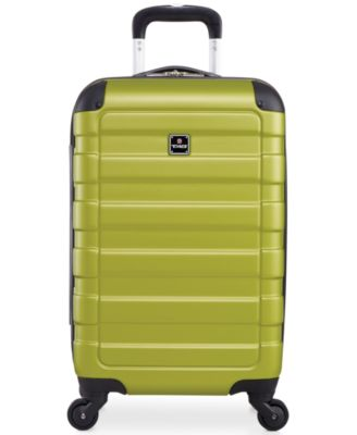 "Image of Tag Matrix 20"" Carry On Hardside Spinner Suitcase, Only at Macy's"