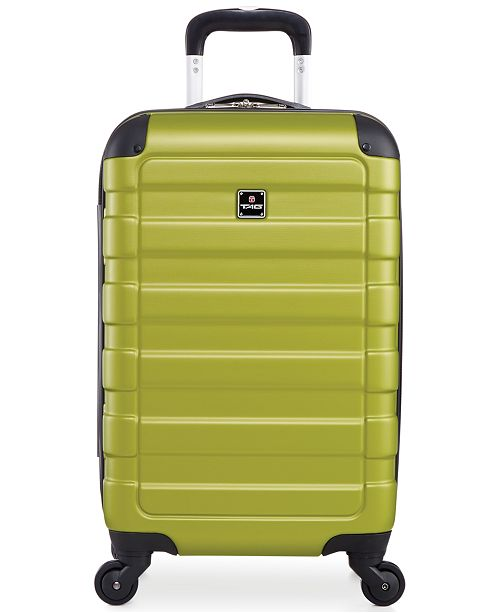 "Tag CLOSEOUT! Matrix 20"" Carry On Hardside Spinner Suitcase, Created for Macy's"