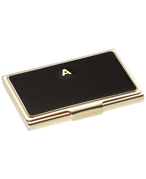 kate spade new york one in a million initial business card holder 13 reviews main image main image - Kate Spade Business Card Holder