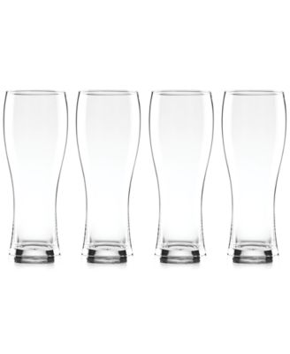 Tuscany Craft Beer Wheat Beer Glasses, Set of 4