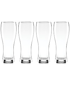 Lenox Tuscany Craft Beer Wheat Beer Glasses, Set of 4