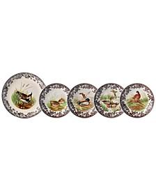 Woodland 5 Piece Bowl Set