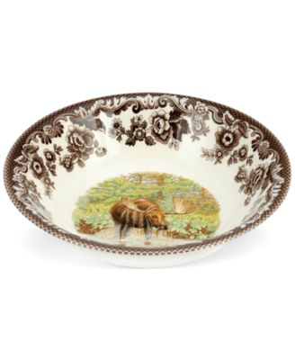 Woodland Majestic Moose Ascot Cereal Bowl