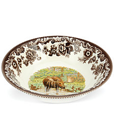 Spode Woodland Majestic Moose Ascot Cereal Bowl