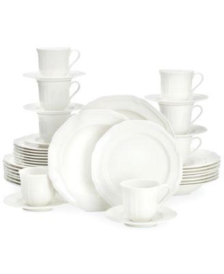 Mikasa Antique White 40-Pc. Dinnerware Set Service for 8  sc 1 st  Macy\u0027s & Mikasa Antique White 40-Pc. Dinnerware Set Service for 8 - Fine ...