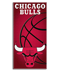 Northwest Company Chicago Bulls Emblem Beach Towel