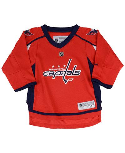Reebok Boys' Washington Capitals Replica Jersey