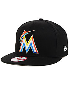 New Era Miami Marlins MLB 2 Tone Link 9FIFTY Snapback Cap