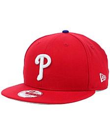 New Era Philadelphia Phillies MLB 2 Tone Link 9FIFTY Snapback Cap