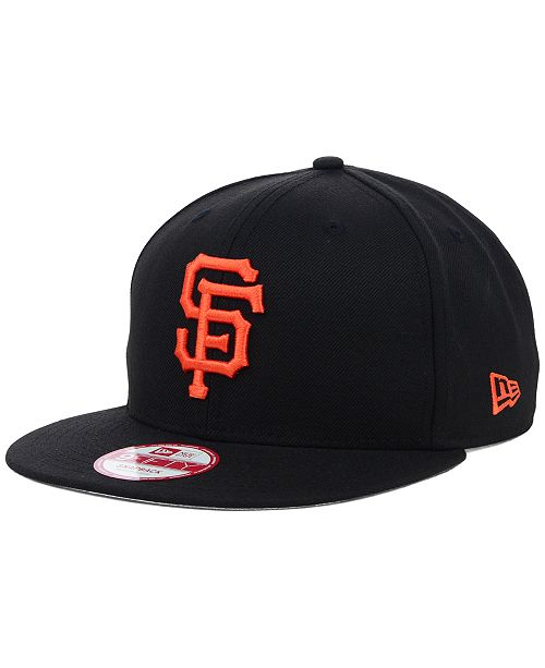 cheap for discount 0a18c 2397d ... New Era San Francisco Giants MLB 2 Tone Link 9FIFTY Snapback Cap ...