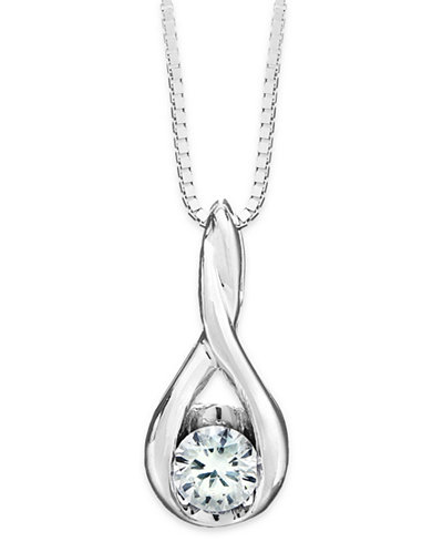 Sirena jewelry shop for and buy sirena jewelry online styles44 sirena diamond twist pendant necklace in 14k gold or white gold 15 ct aloadofball Choice Image