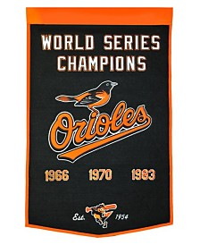 Winning Streak Baltimore Orioles Dynasty Banner