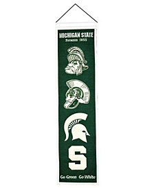Winning Streak Michigan State Spartans Heritage Banner