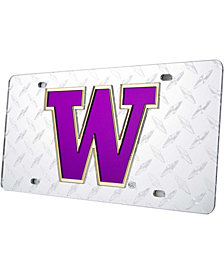 Stockdale Washington Huskies Diamond-Cut License Plate