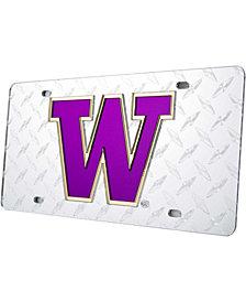 Stockdale Washington Huskies Diamond-Cut License Plate