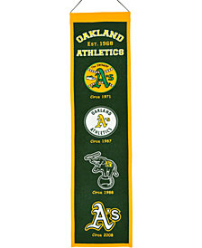 Winning Streak Oakland Athletics Heritage Banner