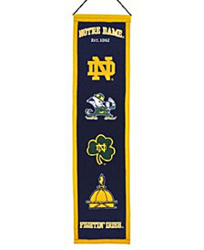Winning Streak Notre Dame Fighting Irish Heritage Banner